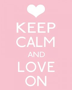 keep calm-valentine