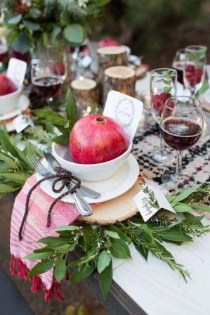 30-Gorgeous-Ways-To-Incorporate-Pomegranates-Into-Your-Wedding-Day
